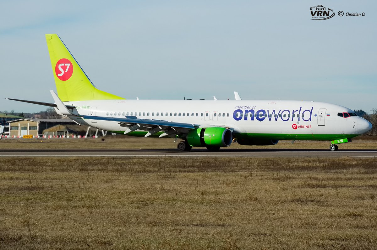 20170114-VQ-BKW-S7 AIRLINES-VRN-ONGARO CHRISTIAN