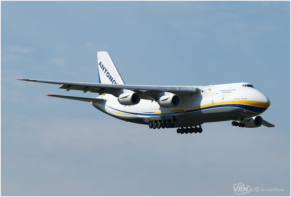 UR-82073 ANTONOV AIRLINES VRN 20210309 DE GUIDI MONICA